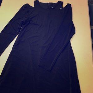 Classy black Ivanka Trump dress